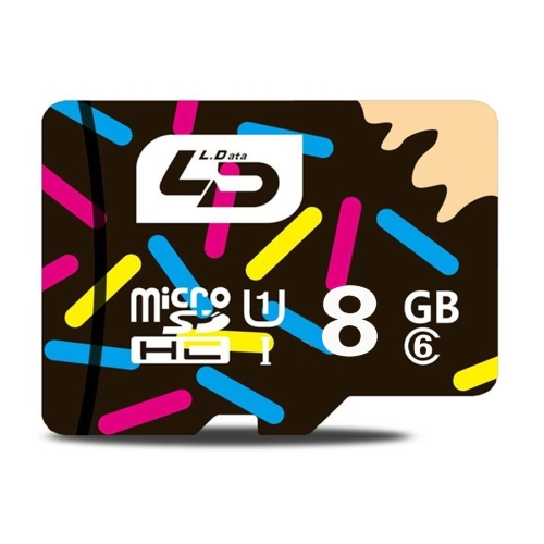 Hot sell LD 8GB High Speed Class 6 Memory Card