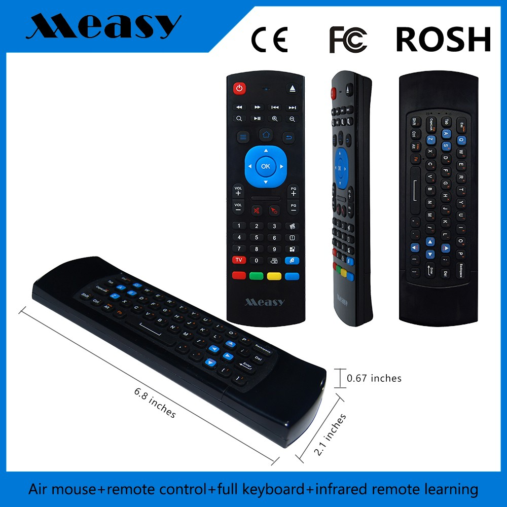 wireless keyboard GP811 TV Remote Control for air mouse smart tv