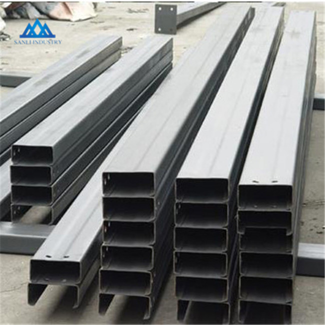 <strong>U</strong> channel steel sections mild steel factory made
