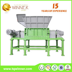Long warranty Bao steel used double shaft shredde for sale