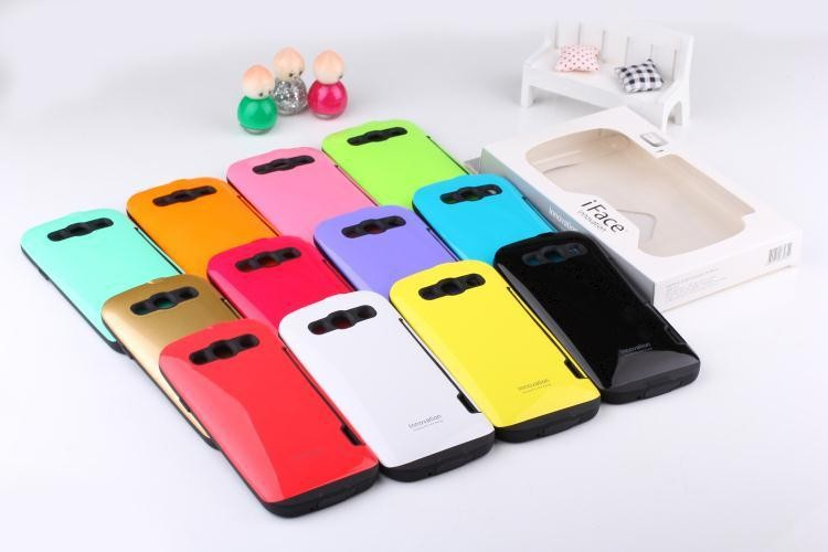 Mobile Phone TPU PC the 5th generation Iface cases covers for S3
