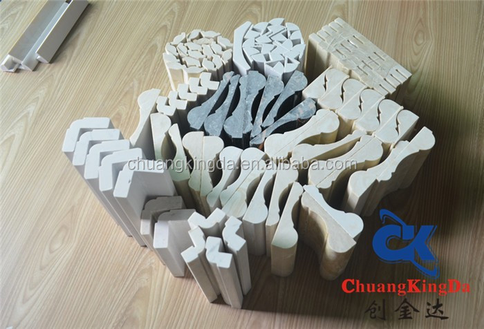 artificial wall stone line decoration Waist line