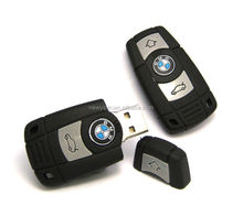 New 8GB PVC MINI Car Key model USB 2.0 Flash Memory Stick Pen Drive High Qualtiy