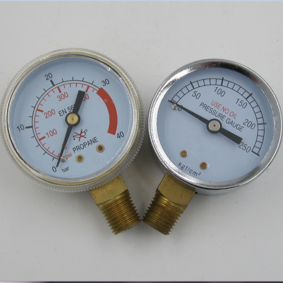 stainless steel turbo pressure gauge with CE