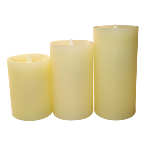 rechargeable LED candles for joyful parties with remote control