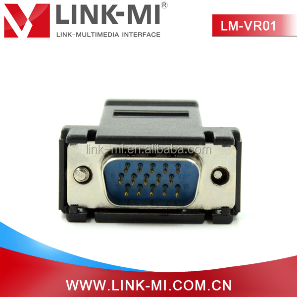 LM-VR01 Mini VGA to UTP Video Converter to Extend Display Devices By UTP Cable