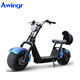Hotest vehicle 1000w citycoco electric scooter cool electric motorcycle Germany market