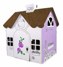 Playhouse Box Creations Corrugated Play House