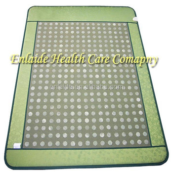 heating magnetic germanium stone massage jade mattress