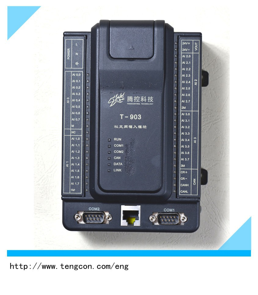 wide temperature PLC T-903 plc controller for industrial automation