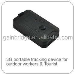 3G WCDMA GPS tracking device with long life battery 3000~20000mAh, magnetic mounting