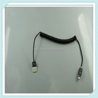 Extension spring mobile phone data cable fast charging