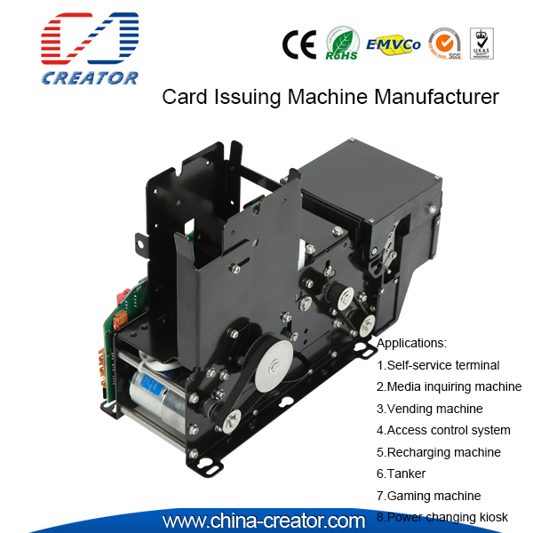 Hotel Self-service Access Control System IC/RFID Read & Write Card Issuing Machine