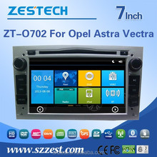 new car accessories products for OPEL ASTRA VECTRA car dvd player Support 3G/V-10disc/Audio/Video