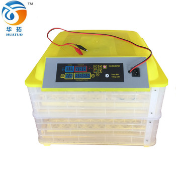 cheaper price mini quail egg incubator with 96 eggs with 220v/12v