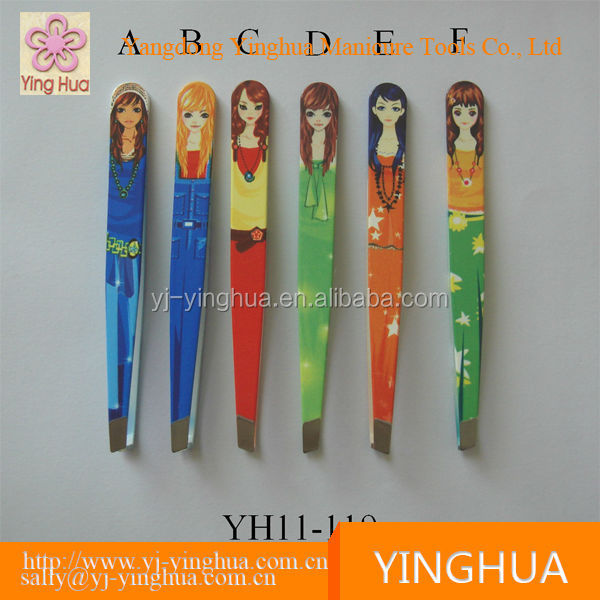 China manufacturer eyelash extension tweezers