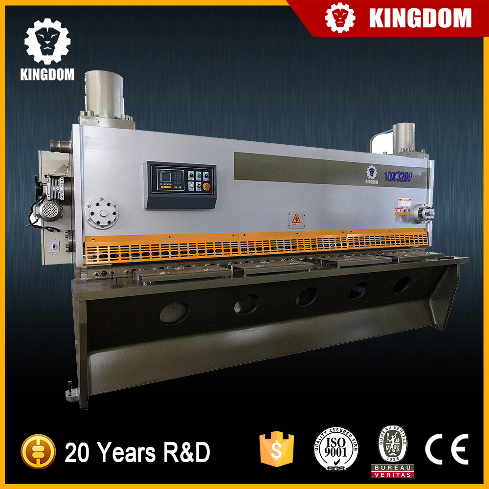 Kingdom steel sheet metal cutting machine