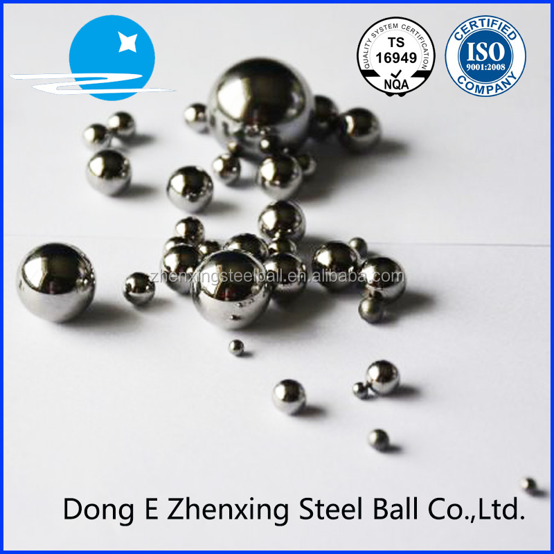 "TS-16949 qualitied good quality G100 3.175mm 1/8""chrome steel ball"