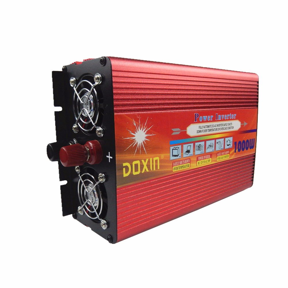 2016 NEW design very welcoming high capacity modified sine wave power inverter dc ac 1000w 12v 220v