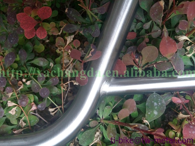 super light China Titanium handle bar BMX better than carbon handle bar no folding bike handle bars