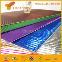 colored corrugated paper,E wave corrugated paper,corrugated cardboard for flower wrapping or DIY toy