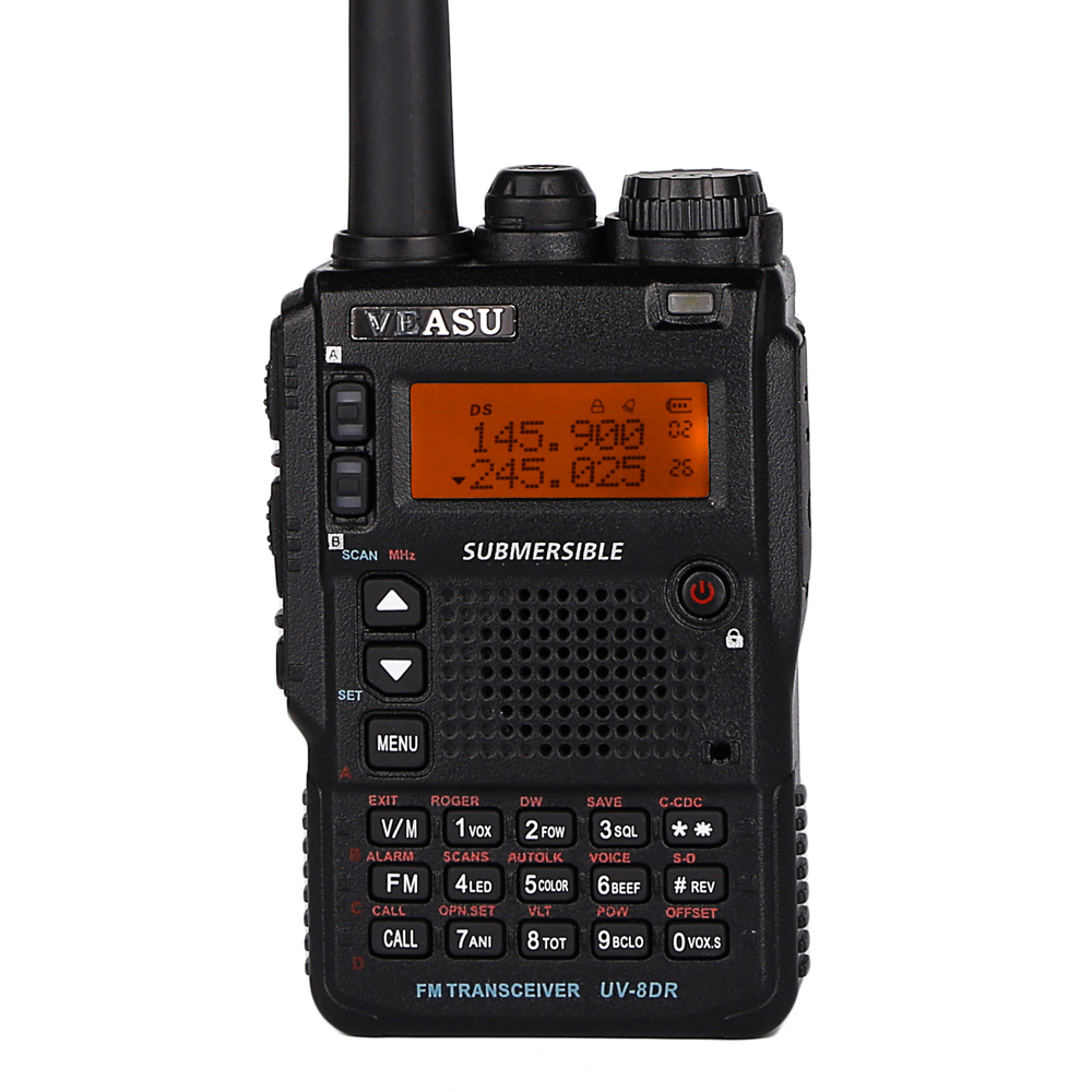 Triple-Band Digital Ham Radio Japan VX-8DR <strong>Mobile</strong> Military Two Way Radio