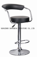 best sell Modern PU bar stool, no folded adjustable Bar stool furniture H-319 swivel
