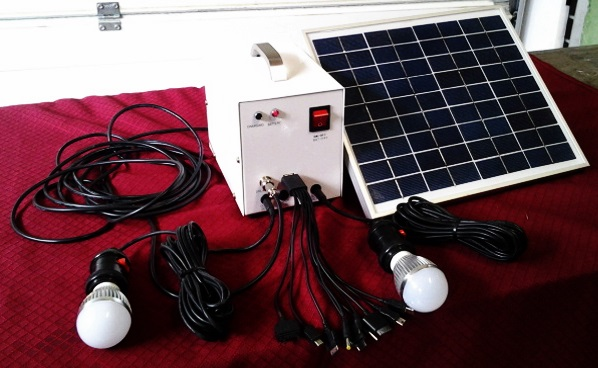OXART 10W Small DC Solar Power System Portable type