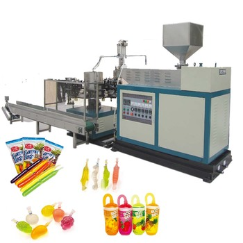 Ice lolly tube plastic blow moulding machine