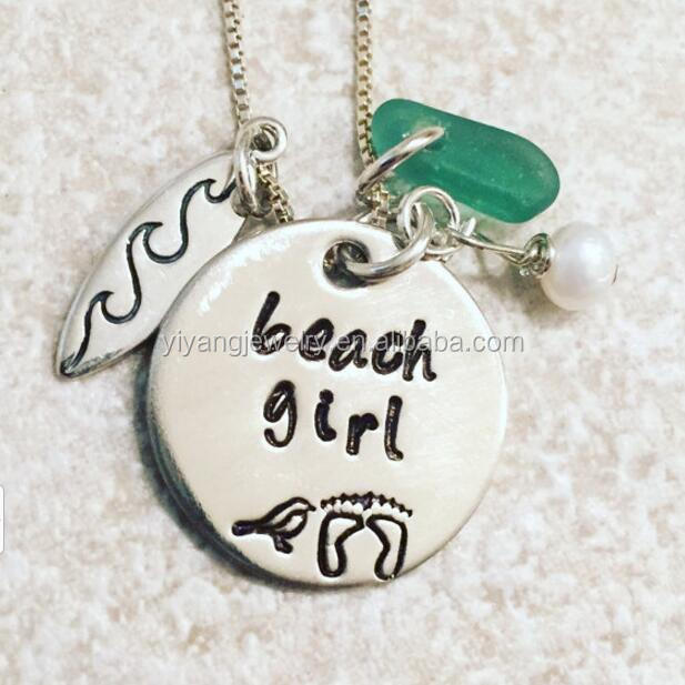 2016 Hot Selling to America Beach Girl Jewelry Handmade Necklace