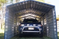 Metal Carports with Walls/Buying Enclosed Metal Carports