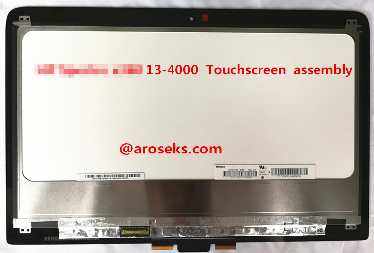 For HP Spectre x360 13-4000 N133HSE-EB3 C1 (P/N 801495-001) Touchscreen assembly