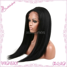 Natural raw unprocessed 100% virgin brazilian hair cosplay blue wigs