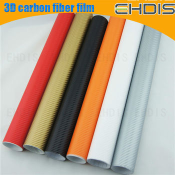 Group sourcing 3d carbon fiber car wrap vinyl film with air free bubble