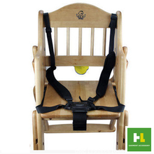 5 points portable baby chair safety harness Dining Lunch Chair Seat Safety Belt