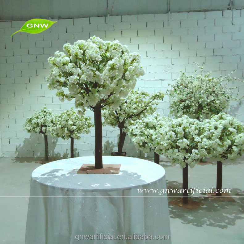 List manufacturers of wedding centerpiece tree buy wedding gnw ctr1503 3 decorative centerpieces small table wedding blossom trees white artificial cherry flowers 4ft junglespirit Choice Image
