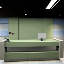Polyester Fiber Sound Absorbing Panel for Reception