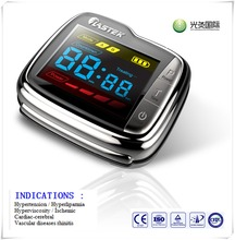 Trending hot products wrist watch 650nm low level laser acupuncture therapeutic apparatus