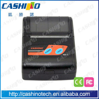 58mm Portable smartphone printer for bluetooth printing