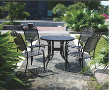 Beach Restaurant Hotel Dining Aluminium Metal Outdoor Furniture