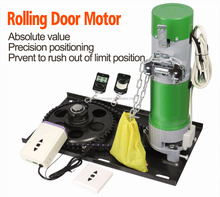 Electric Remote Control Automatic Rolling Door Motor