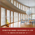 Standard size best price one way japanese window blinds