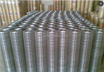 galvanized weld wire mesh from china manufacture