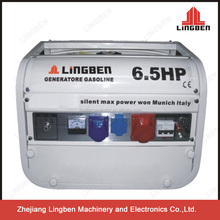 LingBen 2kw 6.5hp Air-Cooled Power Portable Electric Gasoline Honda Engine Price Mini Generator Set Series Italy