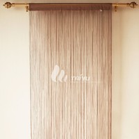 SINGLE String Curtain Panel Fringe Tassle Window Door Fly Screen Room Divider