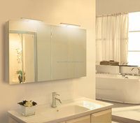 Engineering project high quality LED lighted mirror cabinet for hotel bathroom