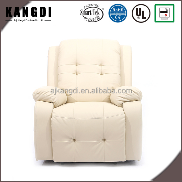 lazy boy armchair leather swivel recliner massage sofa