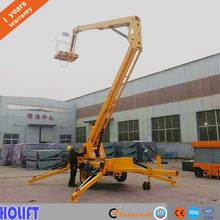 2017 most popular Electric knuckle boom lifts for street light maintenance sale
