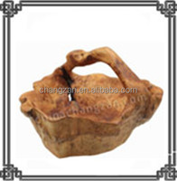 Handly Carved Wooden Root Baskets