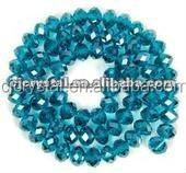 Indicolite Crystal Loose Beads,Glass Crystal Beads